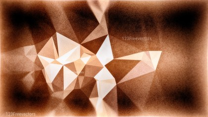 Black and Brown Grunge Polygon Pattern Background
