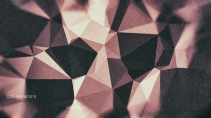 Black and Brown Grunge Polygon Triangle Background Image