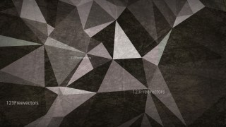 Black and Brown Grunge Polygon Abstract Background