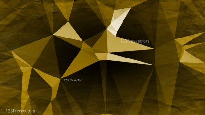 Black and Gold Grunge Polygon Pattern Background Image