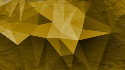 Black and Gold Distressed Polygonal Background