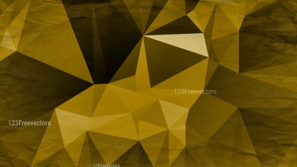 Black and Gold Distressed Polygon Background Image