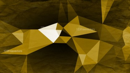 Black and Gold Grunge Low Poly Background Graphic