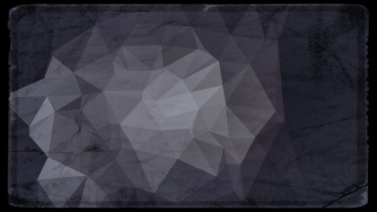 Black and Grey Grunge Polygon Background
