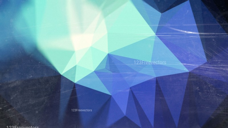 Black Blue and Beige Grunge Polygonal Background