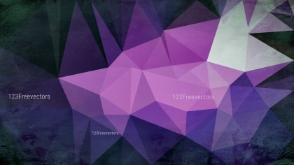 Black Blue and Purple Grunge Polygonal Background
