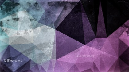 Black Blue and Purple Grunge Polygon Pattern Background