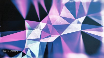 Black Blue and Purple Grunge Polygon Triangle Background