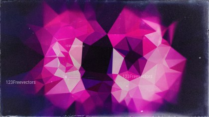 Black Pink and Blue Distressed Low Poly Background Image