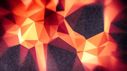 Black Red and Orange Grunge Polygon Abstract Background