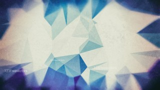 Blue and Beige Grunge Polygon Triangle Background