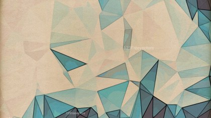 Blue and Brown Grunge Polygon Background Graphic