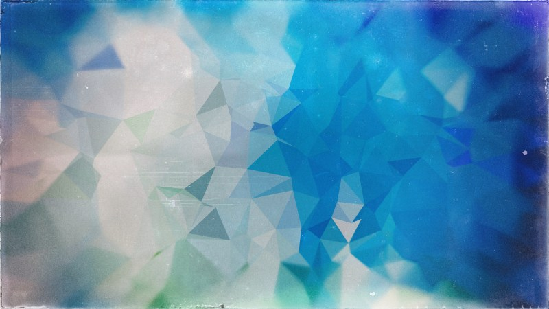 Blue and Grey Grunge Polygon Pattern Abstract Background Graphic