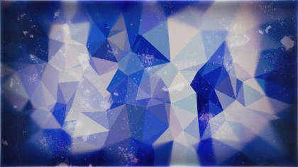 Blue and Grey Polygonal Abstract Background Design
