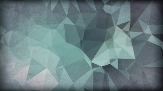 Blue and Grey Distressed Polygon Triangle Background