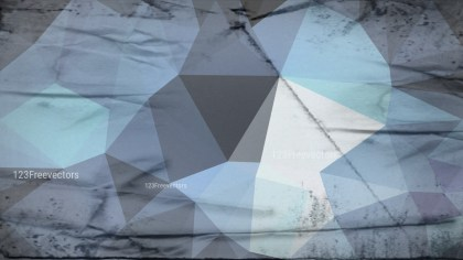 Blue and Grey Grunge Low Poly Abstract Background Graphic