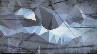 Blue and Grey Grunge Polygonal Abstract Background Design