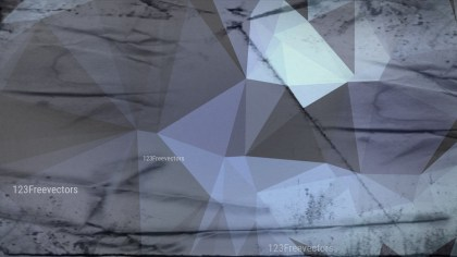 Blue and Grey Grunge Polygon Background Graphic Design