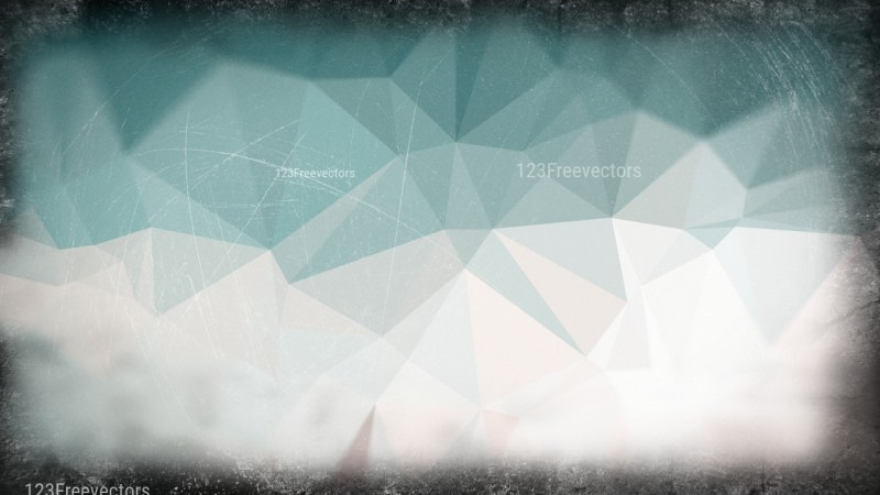 Blue and Grey Grunge Low Poly Background