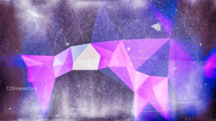 Blue and Purple Grunge Polygonal Background