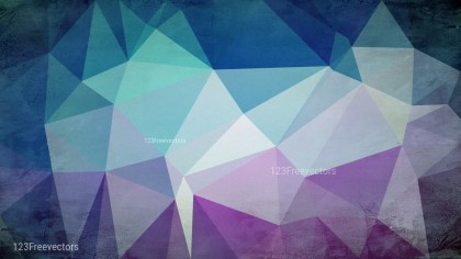 Blue and Purple Distressed Polygon Pattern Background