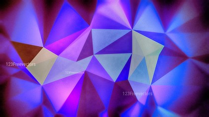 Blue and Purple Grunge Polygon Pattern Background