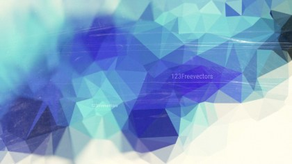 Blue and White Distressed Polygon Background Image