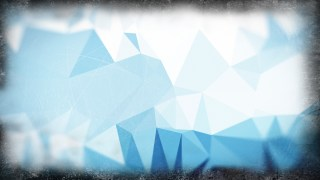 Blue and White Distressed Polygon Background
