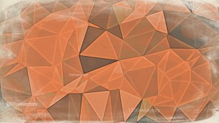 Brown Distressed Polygon Triangle Background