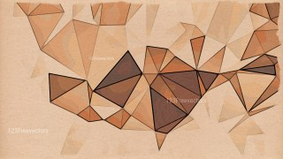 Brown Grunge Polygon Triangle Background