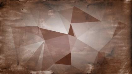 Brown Grunge Polygon Pattern Background