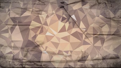 Brown Grunge Polygon Abstract Background Design