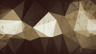 Brown Distressed Polygon Pattern Background Image