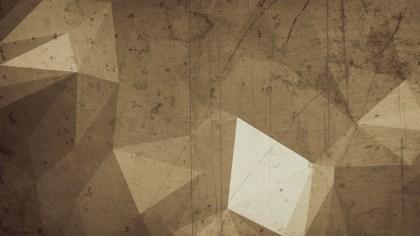 Brown Grunge Polygonal Background