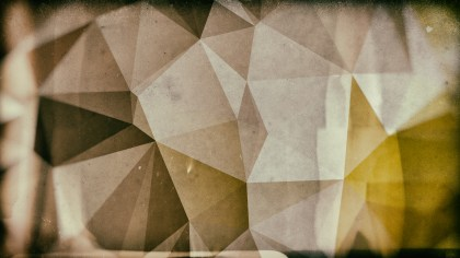 Brown Distressed Polygon Triangle Background Image