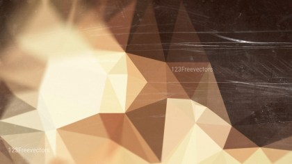 Brown Grunge Polygon Background Image