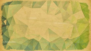 Brown and Green Distressed Low Poly Background Image