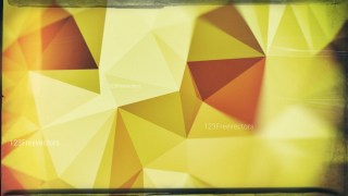 Brown and Green Grunge Polygonal Triangle Background