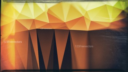 Brown and Green Grunge Polygonal Triangle Background Graphic