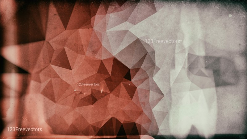 Brown and Grey Grunge Polygon Triangle Background Design
