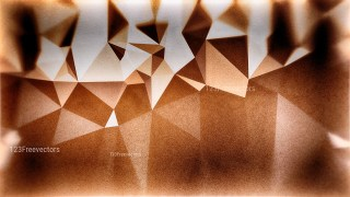 Brown and White Grunge Polygon Background Design