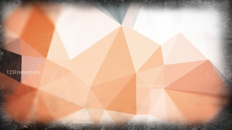 Brown and White Grunge Low Poly Background