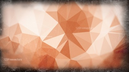 Brown and White Grunge Polygon Pattern Background Graphic