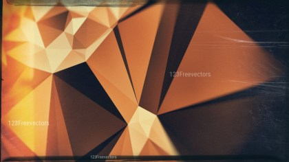 Brown Orange and Black Grunge Polygon Background Design