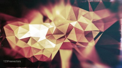 Brown Pink and Black Distressed Low Poly Background Image