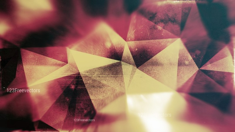Brown Pink and Black Distressed Polygonal Background Image