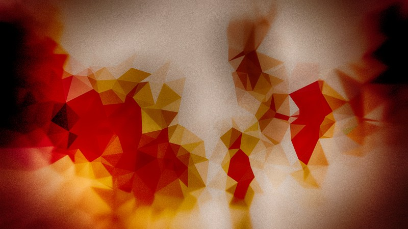 Brown Red and Orange Grunge Polygon Triangle Pattern Background Image