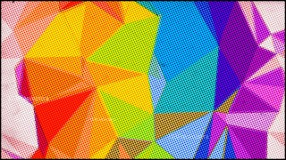 Colorful Grunge Polygon Background Design