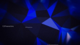 Cool Blue Grunge Low Poly Background Graphic