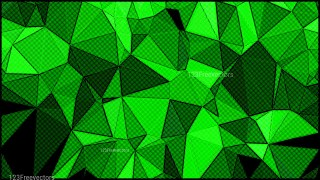 Cool Green Distressed Polygon Triangle Background Image